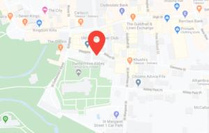 Abbot House Dunfermline Map
