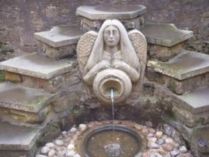 Abbot House Garden Fountain